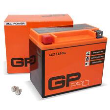 Batterie Roller Scooter Motorrad 12V 10Ah Gel GP-PRO GTX12-BS vgl. YTX12-BS