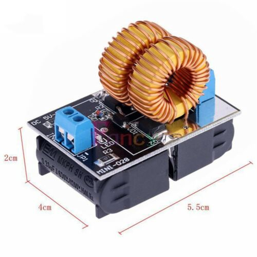 Heating Power Modules 5V to 12V 120W Dc Mini Induction Ladders No Taps With Coil