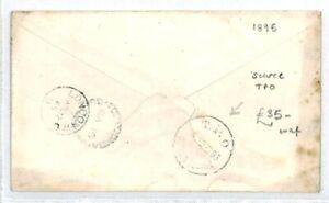 Australie Queensland Orangeville Gb Londres Rare Tpo 1895 {samwells Couvre -} Cw163-covers}cw163afficher Le Titre D'origine
