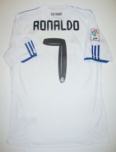 new product 77e59 56f79 Details about Real Madrid Cristiano Ronaldo Adidas Kit Jersey 2010  Manchester United/Portugal