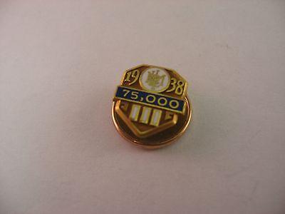 Reliable Vintage Service Award Pin 1938 Metropolitan Met Life Insurance Co Banking & Insurance 75,000 Crease-Resistance