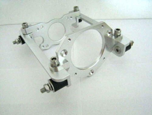 "CNC ENGINE MOUNT VS3 rc model boat Zenoah Tiger King motor 5/"" aluminium"