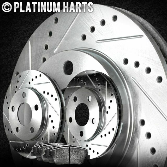 For 2004-2011 Cadillac CTS, STS Front HartBrakes Brake