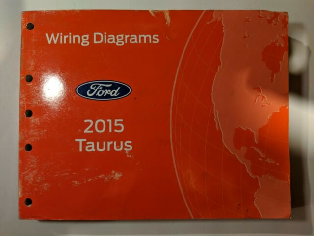 Factory 2015 Ford Taurus Electrical Wiring Diagrams Ewd Service Manual