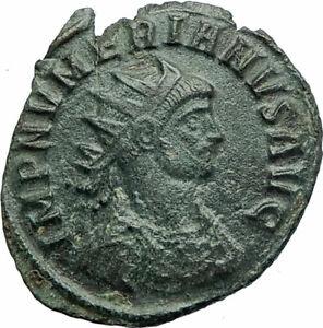 NUMERIAN-w-globe-amp-scepter-283AD-Rome-Genuine-Ancient-Roman-Coin-Rare-i76066
