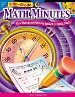 Math Minutes, 5th Grade, New, Free Shipping on Sale