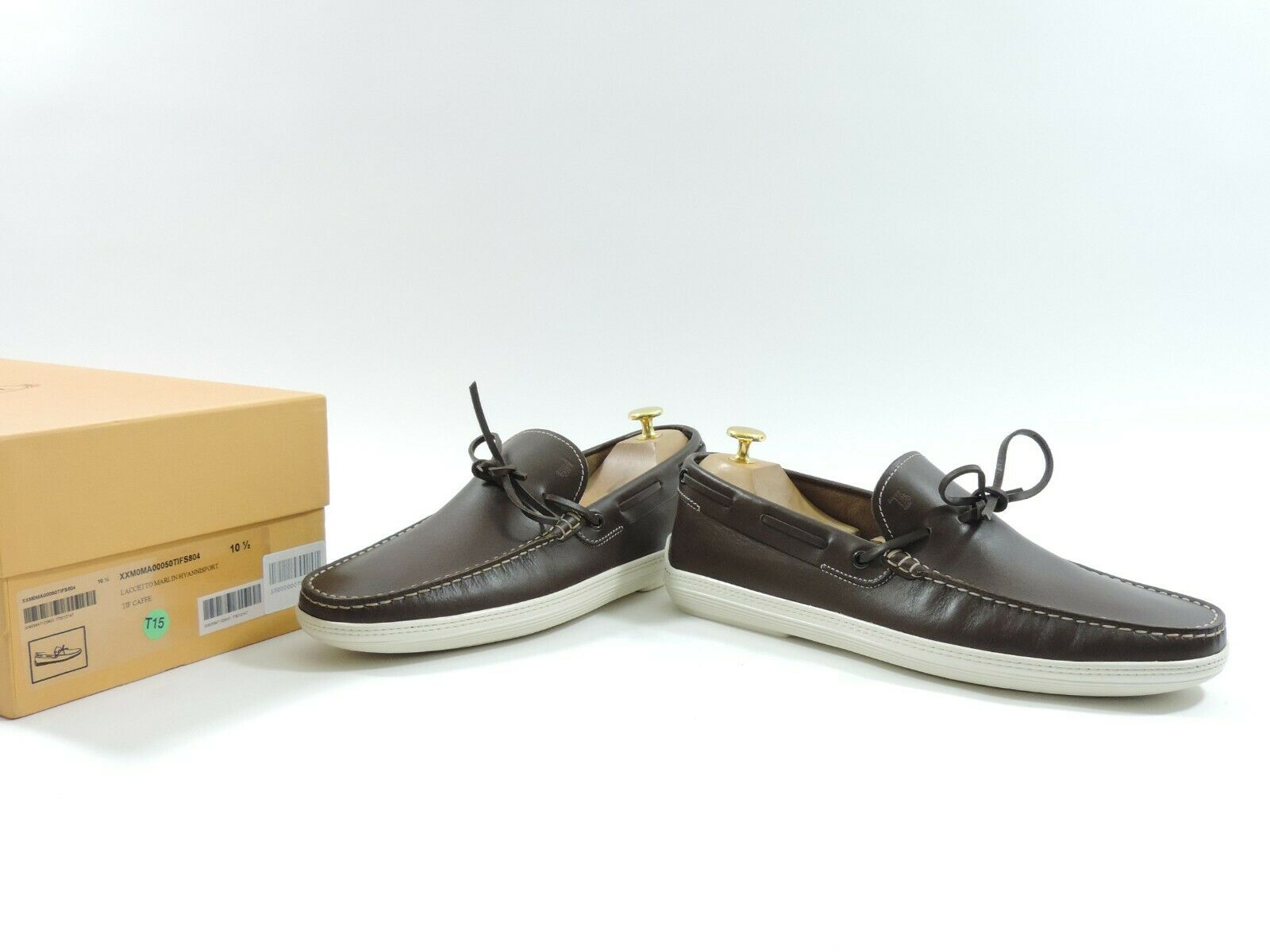 New Tods Loafers Gomino Drivers Penny Boat Deck UK 10.5 US 11.5 EU 44.5