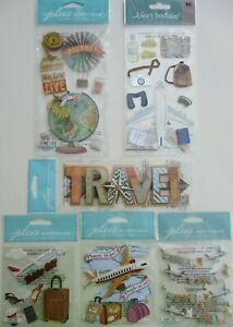 JOLEES BOUTIQUE FAMILY VACATION TRAVEL SCRAP BOOK STICKERS