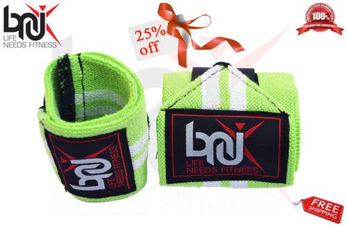 Bnu haltérophilie poignet wraps bandage main soutien gym bretelles brace coton