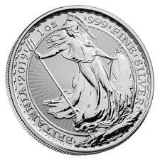 1 oz. Unze Silber 999 *2 £ Britannia* 2019