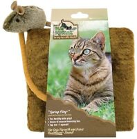 Ourpets Play N Squeak Spring Fling With Mouse Cat Toy Free Ship To The Usa