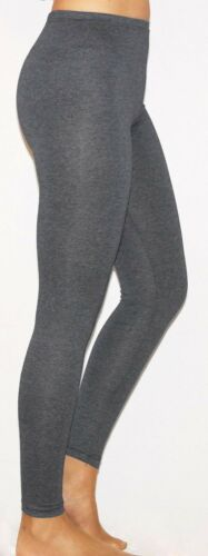 Womens Full Length Cotton//Viscose Leggings Plus Size 6 8 10 12 14 16 18 20 22 CT