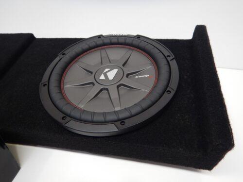 2014 to 2016 Chevy Silverado Crewcab Subwoofer Enclosure Speaker Box Black Brown
