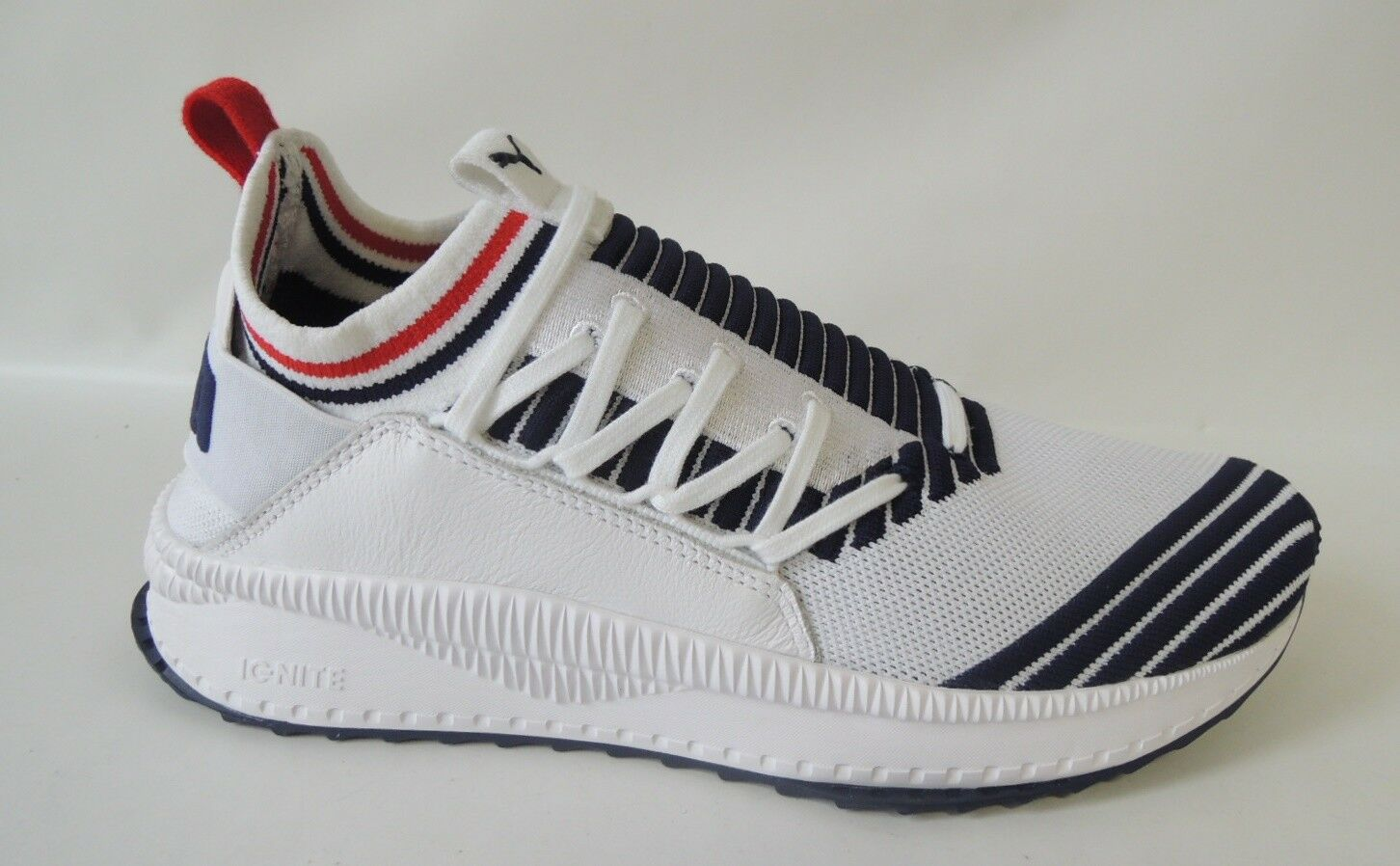NEU Puma Ignite Tsugi Jun Sport Stripes Größe 46 Socken Turnschuhe 367519-01