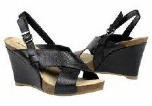 Eurostep Malina sandals leather 3.75 heel 9.5 Med NEW