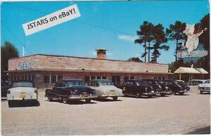 Details About 1950s Jesup Ga The Pig Bbq Restaurant Postcard