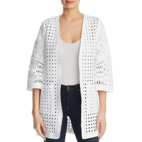 Kobi Halperin Womens Jillian Basket Weave Jacket Cardigan Sweater Coat BHFO 2189