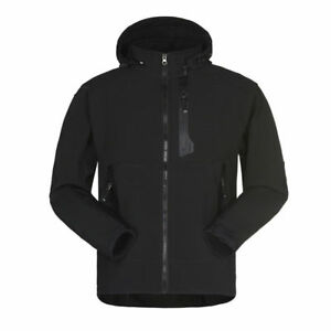 Men-Hiking-Softshell-Jacket-Windstopper-running-Waterproof-Outdoor-Thermal