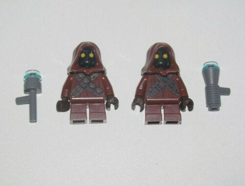 Lego ® Lot x2 Minifig Figurine Star Wars Jawa Armes NEW