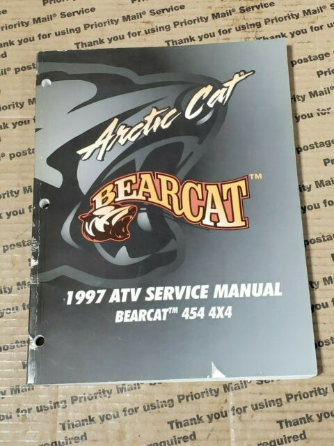Arctic Cat Atv 1997 Bearcat 454 4x4 Service Manual 2255