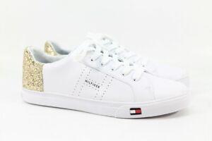 White/gold Fashion Sneaker 10M(ZAP5264