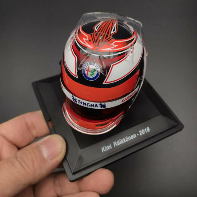 1/5 Spark Helmet Replica For 2019 ALFA ROMEO F1 Team Kimi