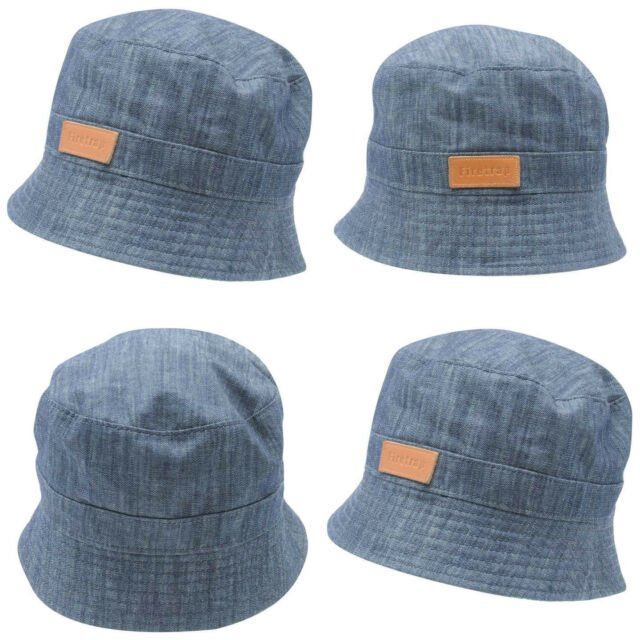 Firetrap Denim Bucket Hat Adults Mens Gents Lightweight Cotton Tonal  Stitching 575a024cca5