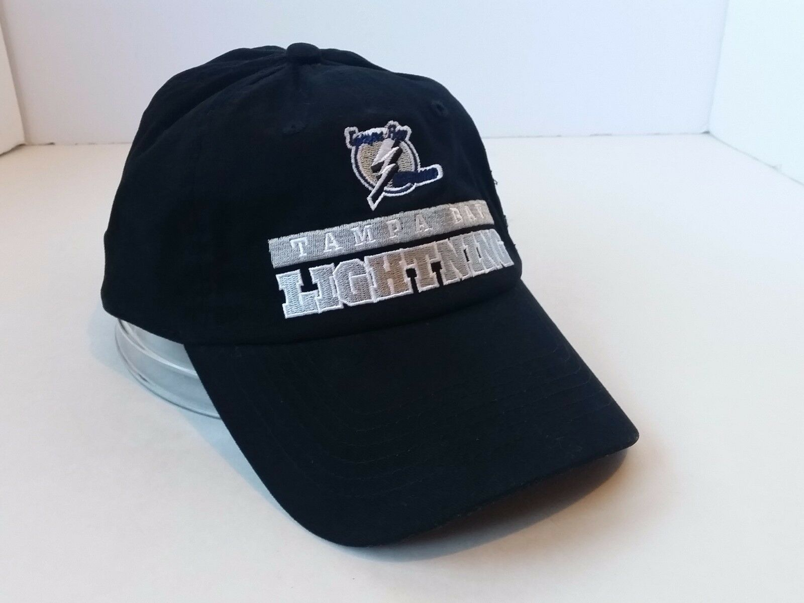Tampa Bay Hook Lightning NHL Hockey Hat Black Hook Bay Loop Baseball Cap c9697c