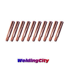 10 Pk Mig Contact Tip 15h 35 15h 45 15h 52 15h 564 15h 332 For Lincoln Tweco