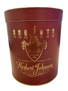 Vintage-Hat-Box-Herbert-Johnson-Hatters-New-Bond-Sreet-London