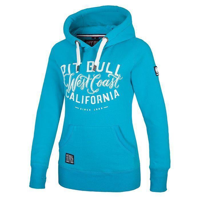 Pit Bull West Coast damen Hoodie West Coast Mint Hooded Minze Pitbull