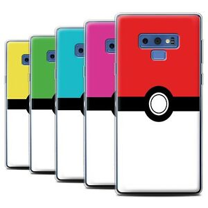brand new 816d2 ad570 Details about STUFF4 Gel/TPU Case/Cover for Samsung Galaxy Note  9/N960/Pokeball Anime Inspired