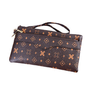 Women-Clutch-Leather-Wallet-Handbag-Card-Holder-Zip-Long-Purse-Phone-Bag-Case