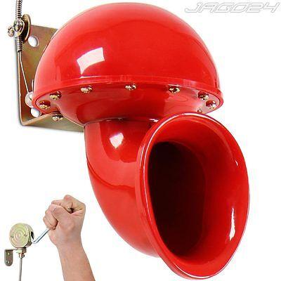 Signalhorn Bullhorn Hupe Kuhhupe Nebelhorn Alarmhorn Warnhorn Fanfare 12V 110 dB