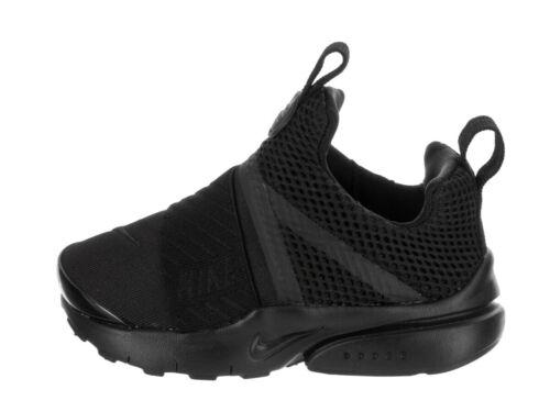 Nike Infant /& Toddler/'s PRESTO EXTREME TD Shoes Black//Black 870019-001 d