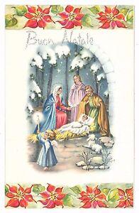 Immagini Natale Vintage.Letterina Di Natale Vintage Con Scritte Argentate Glitter Ebay