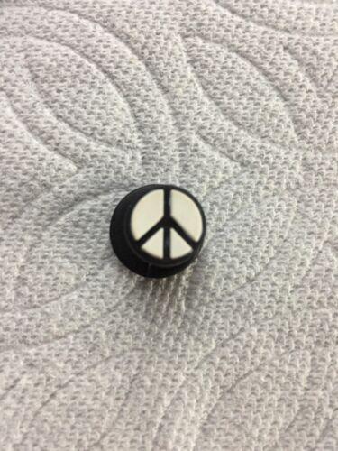 YIN /& YANG JIBBITZ PEACE SIGN JIBBITZ SMILEY JIBBITZ RAINBOW PEACE SHOE CHARM