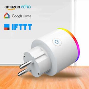 Smart-Steckdose-WIFI-WLAN-Amazon-Alexa-Fernbedienung-Home-Socket-NEU