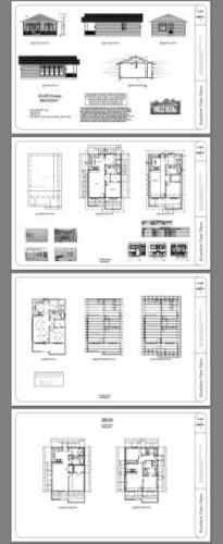 Model 1C 24x32 House 2 Bedroom 2 Bath 768 sq ft PDF Floor Plan