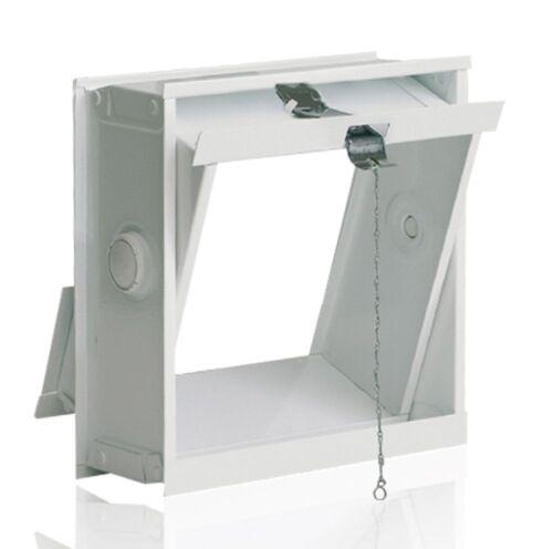 Ventilation aile pour un mur de briques de verre pour 1 bloc de verre 19x19x8cm