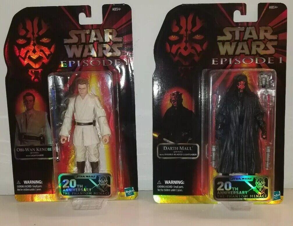 STAR WARS Celebration 2019 Hasbro exclusives Darth Maul & Obi Wan