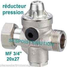 """Réducteur de pression réglable de 1,5 à 5 Bar de WATTS raccord MF 20x27 3/4"""""""