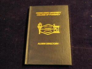 Ferris State University College of Pharmacy Alumni Directory 1992 MI HB BookA79