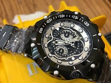 20431 Invicta Reserve 52mm Venom Hybrid Master Calendar Swiss Quartz Strap Watch