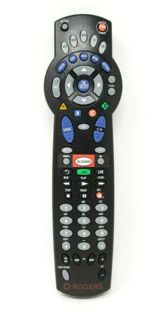 Rogers Cable Box TV Remote Control 1056B03