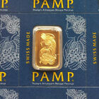 1 gram Gold Bar. Pamp Suisse Lady Fortuna. Sending from Australia Winter Special
