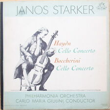 Scarce Janos Starker - Haydn Cello Concerto - Boccherini Cello Concerto - NM-