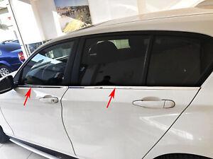 Acero inoxidable las barras de la ventana cromo para bmw 1er f20 | BJ a partir de 2011 - | 4tlg set Pulido