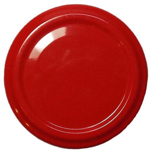 50 Stück X To 63 mm Rot Schraubdeckel für Gläser • Twist Off Deckel Verschluss Ø