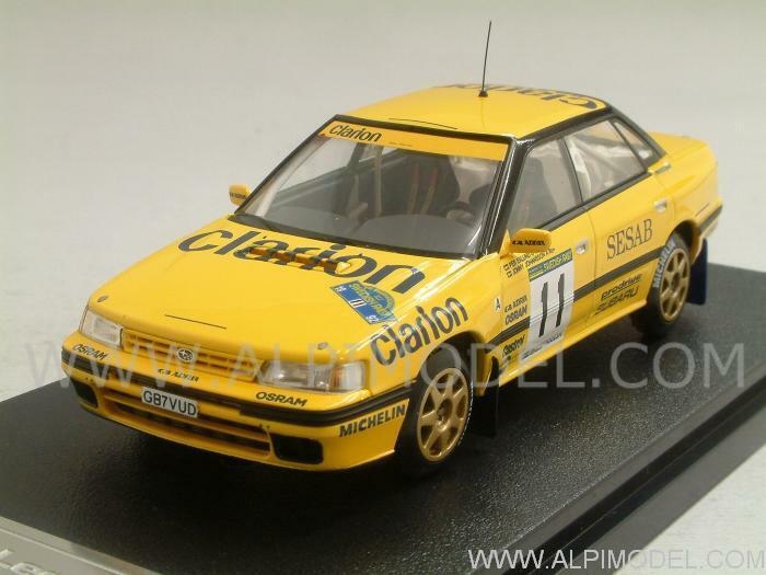 Subaru Legacy RS Rally Sweden 1992 Eklund - Johansson 1 43 HPI RACING 8273